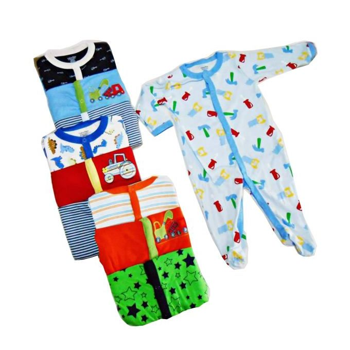 3 Piece Set High Quality Cotton Baby Romper -