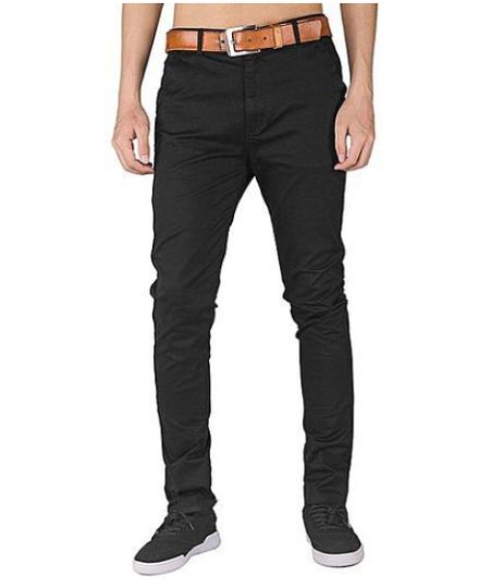 Khaki Pants – Black Khaki trousers Black 30