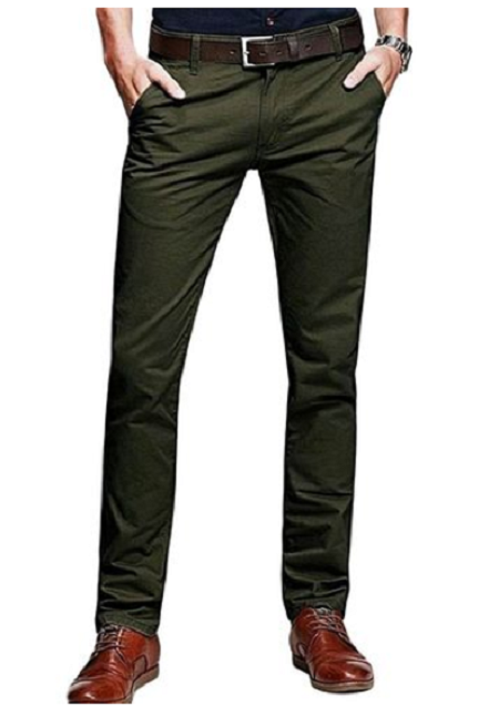 Khaki Pants- Jungle Green Khaki Pants jungle green 30