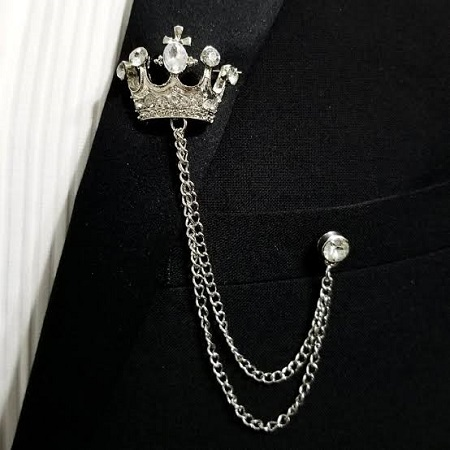 Valentines Gift for Him:- Lapel Chain