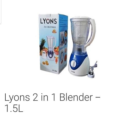 Juicer, blender, mixer- 1.5litres