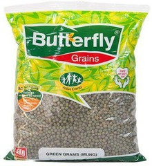 Butterfly Green Gram Cleaned - 1kg