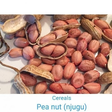 Grain Pea nuts (Njugu) Red 1kg