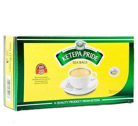 Ketepa Pride Jumbo 100 Tagless Tea Bags-200g