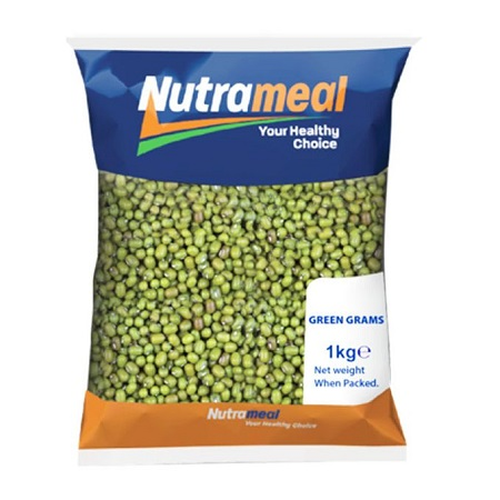 Nutrameal Green Grams Cleaned - 1kg.