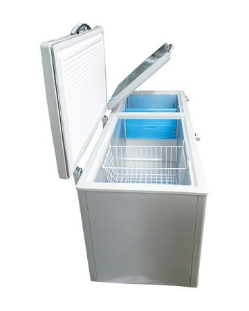 Bruhm BCF-SD100 - 105 Ltrs - (4.5 Cuft) Chest Freezer- Silver