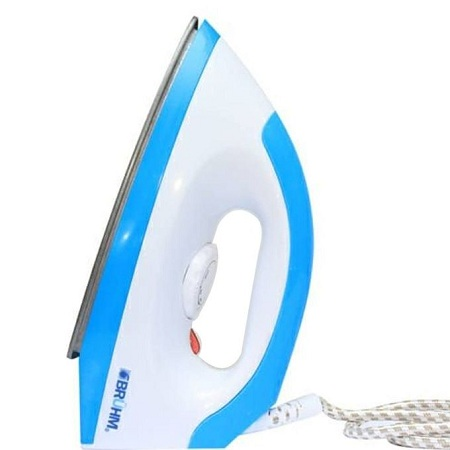 Bruhm BID-1000NW Electric Dry Iron - White & Blue