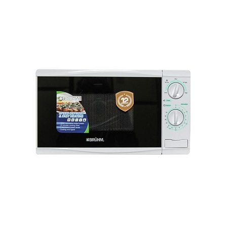 Bruhm BMM-20MM, Manual Microwave Oven, 20L - White