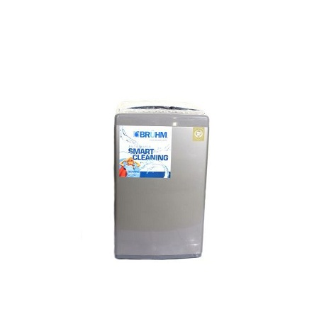Bruhm BWT 070SG, Top Load Automatic Washing Machine - 7 Kgs - Grey