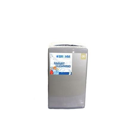 Bruhm BWT 120SG, Top Load Automatic Washing Machine - 12 Kg - Grey