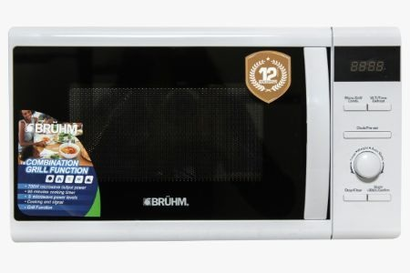 BRUHM MICROWAVE OVEN, BME-20GM