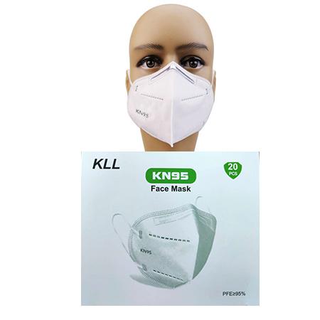 KLL KN95 5 Layer Face Mask - 20 Pcs