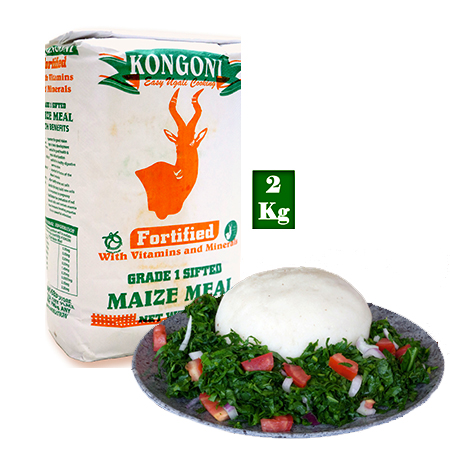 Kongoni Grade 1 Sifted Maize Meal 2 Kg