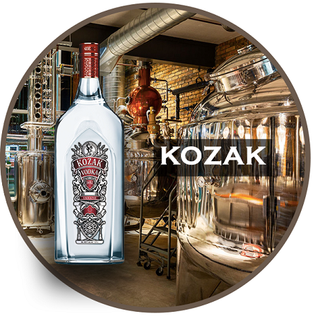 Kozak Vodka 0.7Ltr