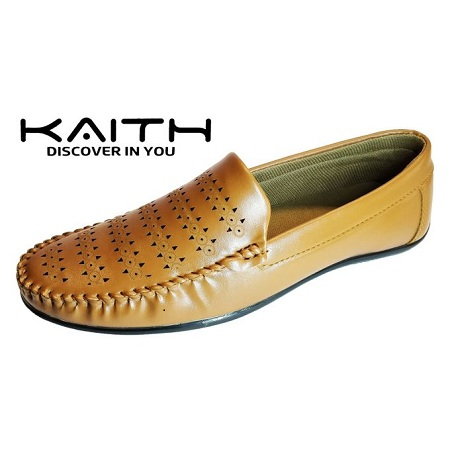Kaith Men Loafers (TAN)