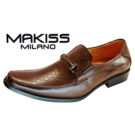 Milano Men Official Shoes (BROWN)