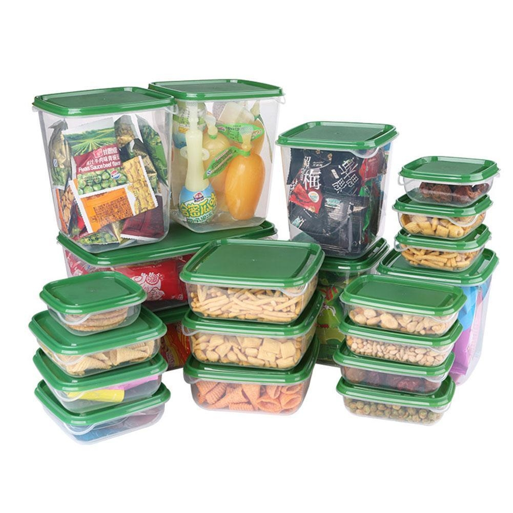 17pc food crisper set