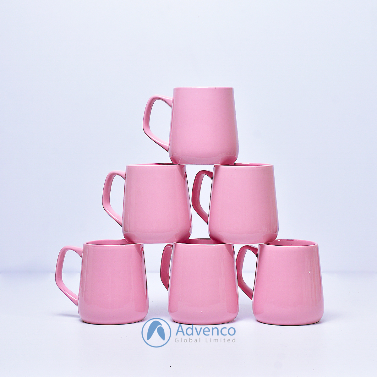 Pink Baby color cup 6 pcs