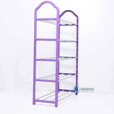 Shoe Rack Small steel Purple