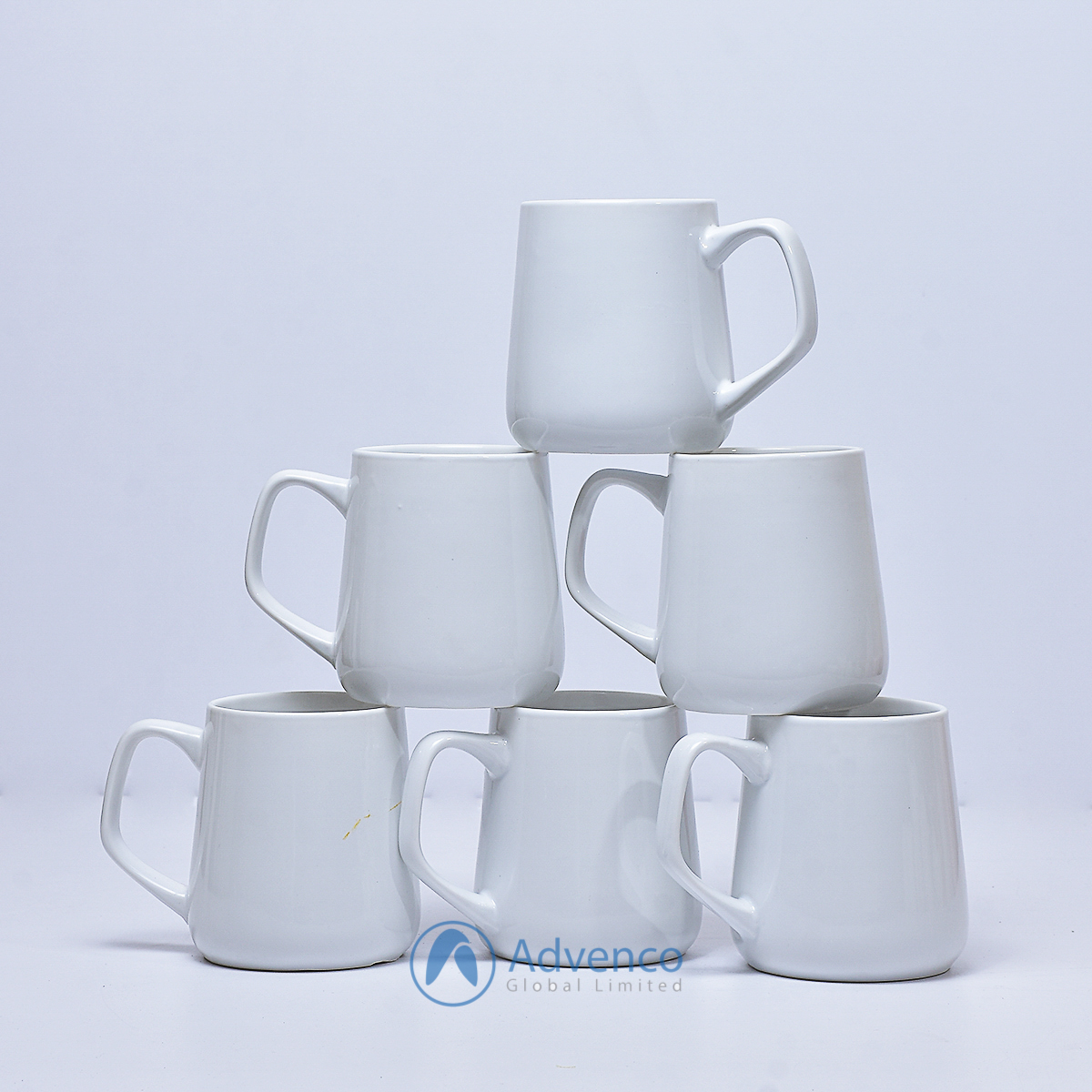 White Baby color cup 6 pcs
