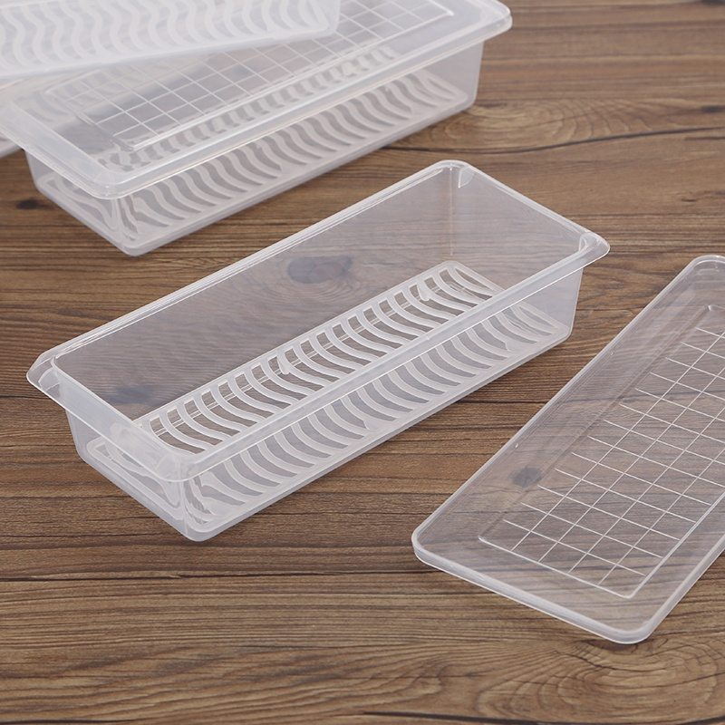 Square cereal container clear