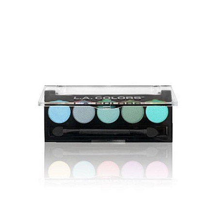 L.A. Colors 5 Color Eyeshadows - Tranquil