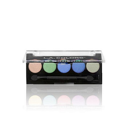 L.A. Colors 5 Color Eyeshadows - Mesmerize