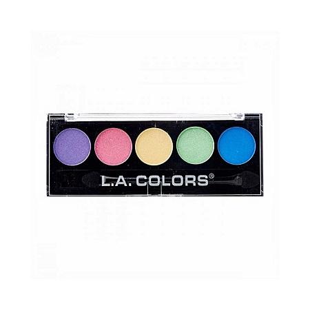 L.A. Colors 5 Color Eyeshadows - Circus