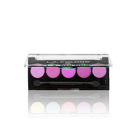 L.A. Colors 5 Color Eyeshadows - Lollipop