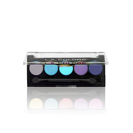 L.A. Colors 5 Color Eyeshadows - Ocean Breeze