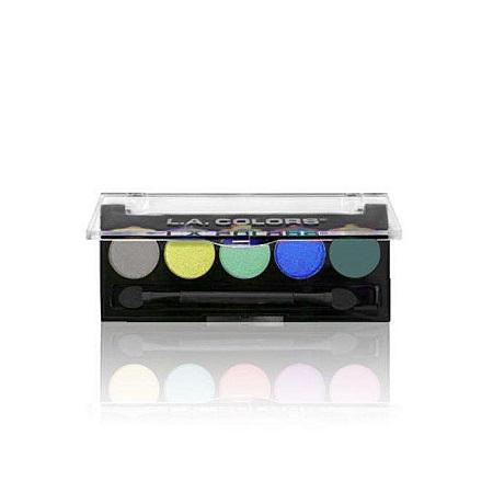 L.A. Colors 5 Color Eyeshadows - Tropics