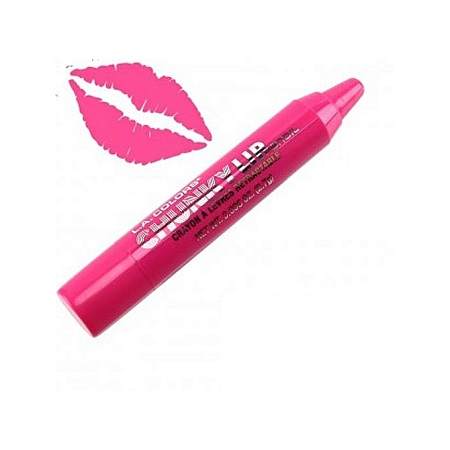 L.A. Colors Chunky Lip Pencil-Baby Pink