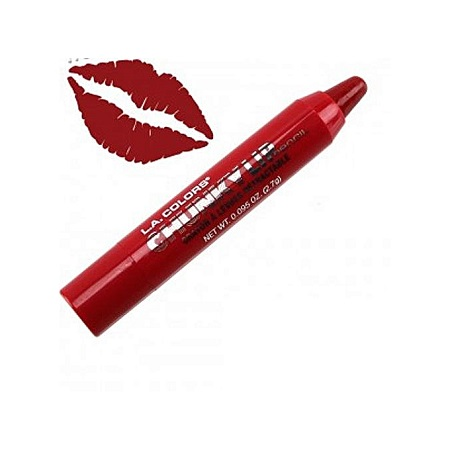L.A. Colors Chunky Lip Pencil - Deep Red