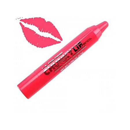 L.A. Colors Chunky Lip Pencil - Hot Pink