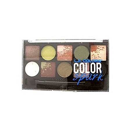 L.A. Colors Color Spark Eyeshadow - Effect