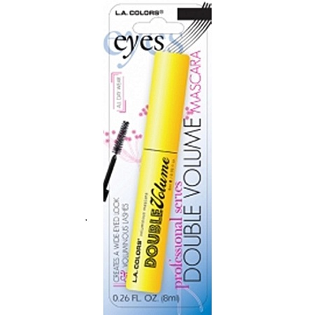 L.A. Colors Double Volume Mascara - Black