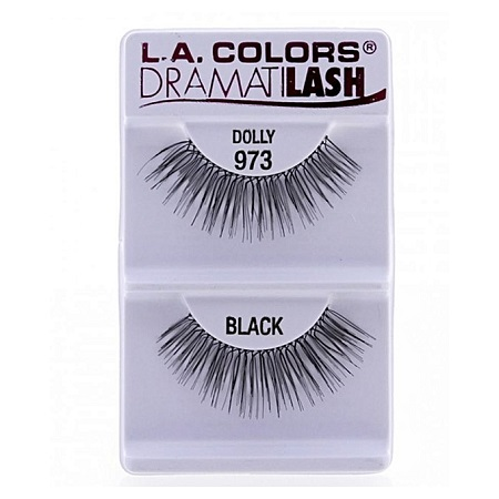L.A. Colors Dramatilash False Eyelashes - Dolly