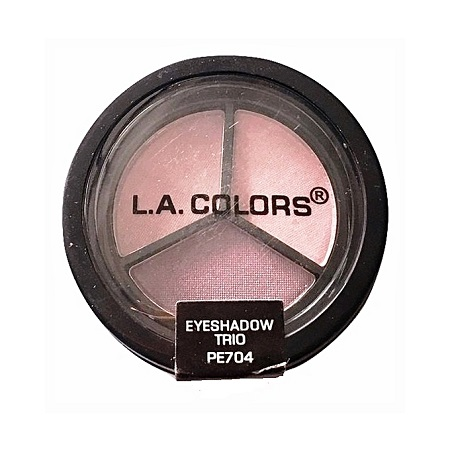 L.A. Colors Eyeshadow Trio - Iris/Orchid/Purple Passion