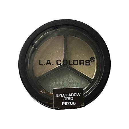 L.A. Colors Eyeshadow Trio - Sea Green/Metallic Moss/Forest Green