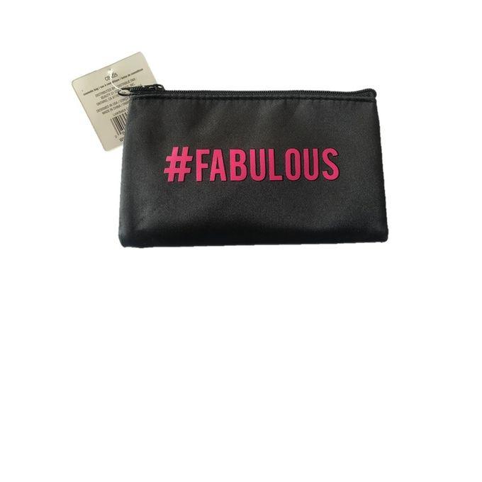 L.A. Colors Small Cosmetic Bag - Black