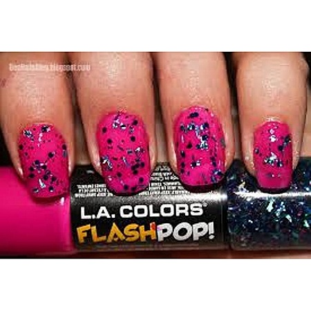 L.A. Colors Flash Pop Nail Polish - Pinksicle