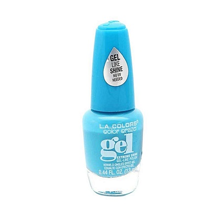 L.A. Colors Gel-Like Shine Instant Dry Nail Polish-Daring