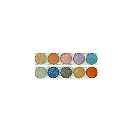 L.A. Colors Glittering Starlet Eyeshadow - Ginger