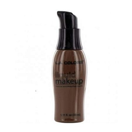 L.A. Colors Liquid Makeup - Ebony
