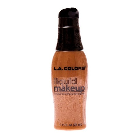 L.A. Colors Liquid Makeup - Tan - 33 ml