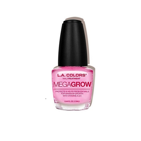 L.A. Colors Mega Grow Nail Treatment, 0.44 Fl. Oz