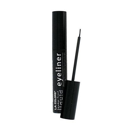 L.A. Colors Smudge Proof Liquid Eyeliner (7ml) - Black