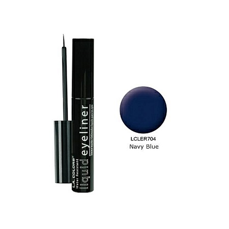 L.A. Colors Smudge Proof Liquid Eyeliner (7ml) - Navy Blue
