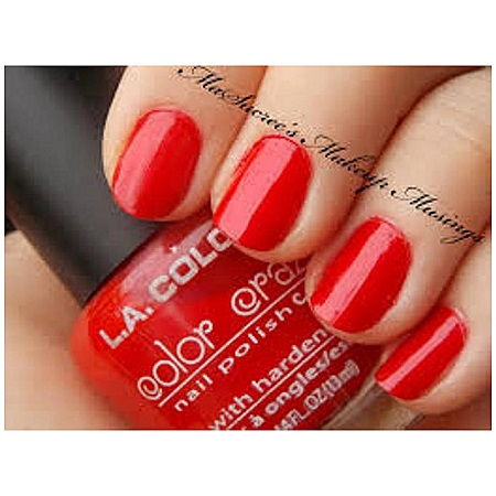 L.A. Colors Nail polish - Animated Red