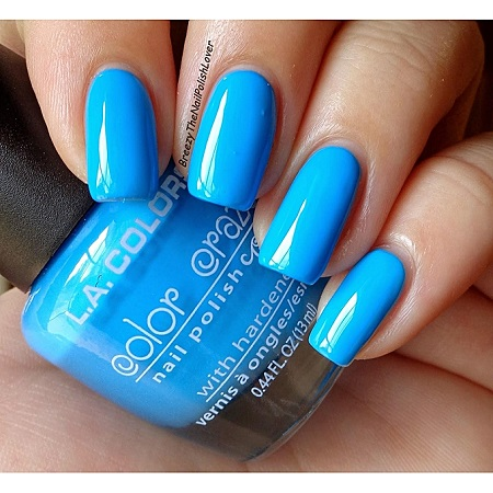 L.A. Colors Nail Polish - Blue Sky